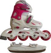 Skate / Schaats Combo - Junior - Roze - Maat 34-37