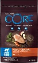 Wellness Core Large Breed Adult Kalkoen&Kip - Hondenvoer - 10 kg