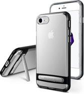 iPhone 7/8 bumper - Goospery Dream Stand Bumper Case - Zwart