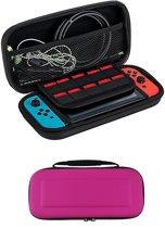 Bescherm Case Hard Cover Hoesje Geschikt voor Nintendo Switch - Roze