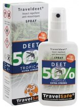 Travelsafe DEET 50% - Spray 60ml