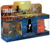Mystery Mini 3 Pack Godzilla