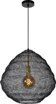 Lucide SAAR Hanglamp - Ø 48 cm - E27 - Zwart