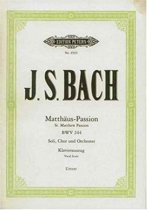 St Matthew Passion Vocal Score