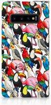 Samsung S10 Book Cover Birds