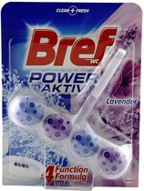 Bref Power Aktiv 50gr WC Block Lavender