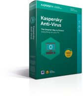 Kaspersky Anti-Virus 2018 - 1 Apparaat - Nederlands / Frans - Windows