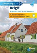 Boek cover ANWB Fietsgids 21 / Belgie Antwerpen West -  en Oost - Vlaanderen van Ad Snelderwaard