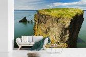 Fotobehang vinyl - Prachtig uitzicht over de Fundybaai breedte 420 cm x hoogte 280 cm - Foto print op behang (in 7 formaten beschikbaar)
