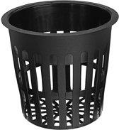 10 Stks 4.3 Inch Zwart Mesh Pot Net Hydrocultuur Aeroponic Bloem Container Groeien Pot Cup Planten Mand