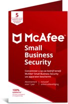 McAfee Small Business Security - Multi-Device - 5 Apparaten - 1 Jaar - Nederlands / Frans - Windows / Mac