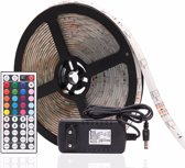 RGB Flexibele LED strip - 5 Meter - Inclusief afst