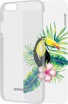 mmoods transparent cover met 1 insert Tropical -  voor iPhone 6/6s