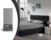 Home Care Supreme Katoen - Hoeslaken - 90x200 - Grijs