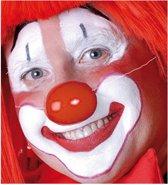 Rode clowns neus