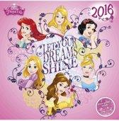 Disney Princess Kalender 2016