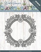 Dies - Precious Marieke - Winter Flowers - Ice flower circle