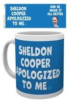 The Big Bang Theory Sheldon Cooper Apologised