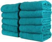 Hotel handdoek - badhanddoek - lente groen - set van 3 stuks - 50x100 cm