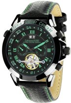 Calvaneo 1583 Calvaneo Astonia Concept Dynamic Green - Horloge - 46 mm - Automatisch uurwerk