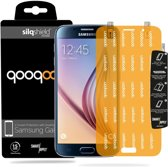 QooQoon silqShield™ Invisible Screenprotector Samsung Galaxy S6 - Front met SmartApply