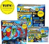 Zipes Speed Pipes Voordeelpakket - Racebaan met raceauto