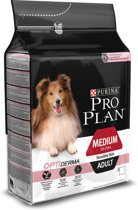 Pro Plan Medium Adult OptiDerma - Zalm - Hondenvoer - 3 kg