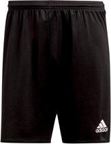 adidas Parma 16 Shorts Heren Sportbroekje - Black/White - Maat M