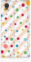 Sony Xperia L1 Standcase Hoesje Design Dots