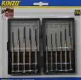 Kinzo 11-delige Precisie Schroevendraaier