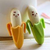 LeuksteWinkeltje Gum Bananen 2 stuks - 4.5 cm