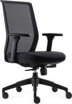 BenS 837-Ergo-4 - Ergonomische Bureaustoel met alle instel opties - EN1335 & Arbo norm - Zwart