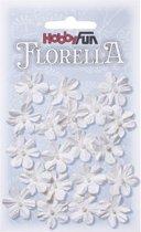 FLORELLA-Bloemen wit, 2cm