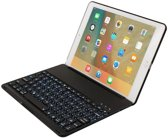 iPad 2018 9.7 inch Toetsenbord Hoes QWERTY Keyboard Case Cover Zwart