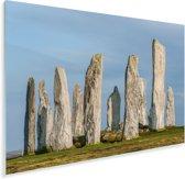 De historische Calanais Standing Stones in Europa Plexiglas 30x20 cm - klein - Foto print op Glas (Plexiglas wanddecoratie)