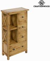 Boekenkast 4 lades ios - Village Collectie by Craften Wood