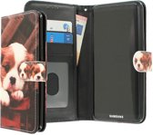 CaseBoutique Samsung Galaxy S8+ hoesje print kunstleer