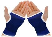 Polsbrace Polsbandage Band - Ortho Stretch Compressie - Lichte Pols klachten bescherming - 2 stuks - Blauw