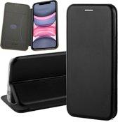 iPhone 11 Hoesje - Book Case Flip Wallet - iCall - Zwart