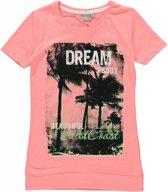 Blue Seven Meisjes T-shirt - Roze - Maat 152