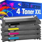 PlatinumSerie® 4 Toner XL compatibel voor Samsung CLT-404S Black Cyan Magenta Yellow