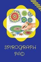 Spirograph Design Pad/Notebook/Journal