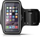 #DoYourFitness - Sportarmband - »RunnerMan« - Hardlooparmband voor telefoon - LARGE 60 cm - zwart