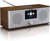 Lenco DIR-170 - Internetradio met Bluetooth, DAB+ en FM - Walnoot