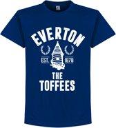 Everton Established T-Shirt - Blauw - XL