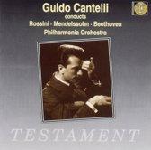 Cantelli, Guido  Conducts Rossini,