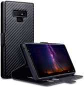 Samsung Galaxy Note 9 hoesje - CaseBoutique - Zwart (Carbon-look) - Kunstleer