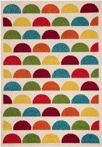 Kindervloerkleed kleurige bubbels Vini - meerkleurig 120x170 cm