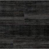 Vintage hout zwart behang (vliesbehang, zwart)