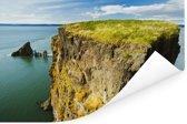 Prachtig uitzicht over de Fundybaai Poster 180x120 cm - Foto print op Poster (wanddecoratie woonkamer / slaapkamer) XXL / Groot formaat!